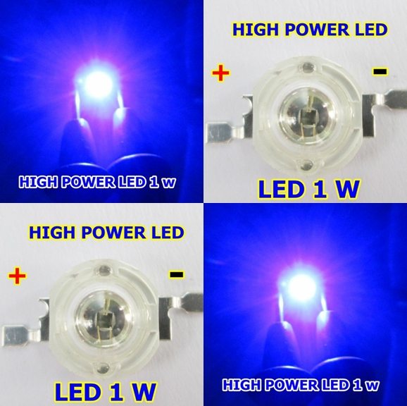 high power led 1w สีน้ำเงิน จำนวน1หลอด
